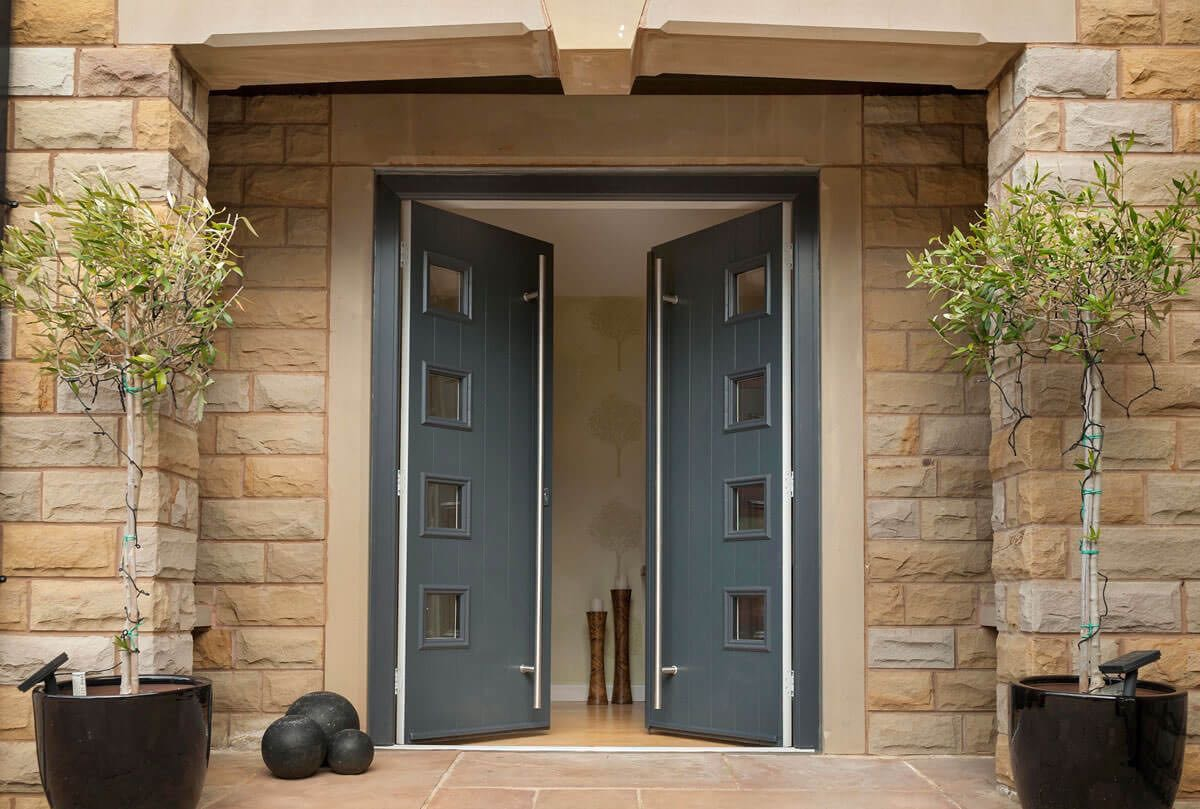 Upvc doors derby aluminium doors double glazed doors - Upvc double front exterior doors ...