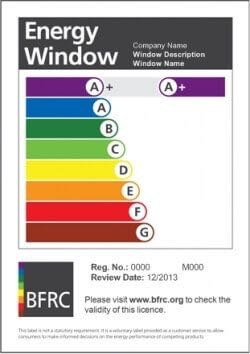 wer, wer rating, window energy rating, triple glazing,